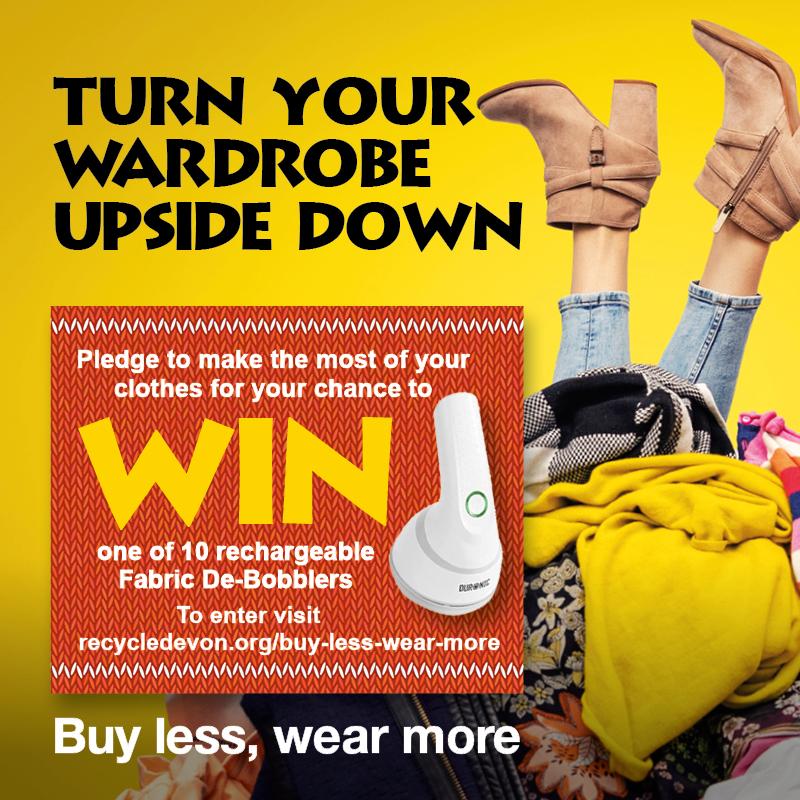 Upside down wardrobe