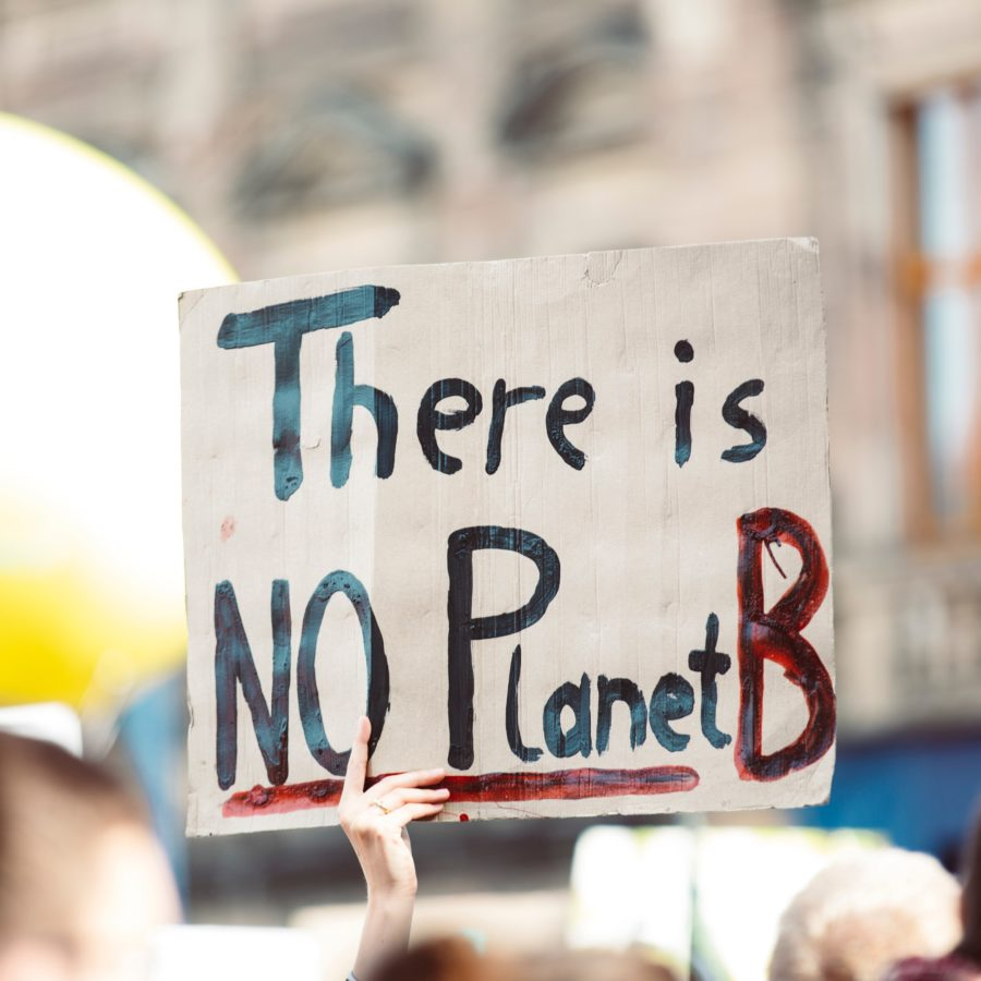 No Planet B sign